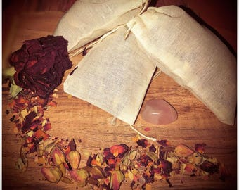 Goddess herbal bath bags