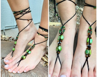 Barefoot Sandals 'Emerald Isle'