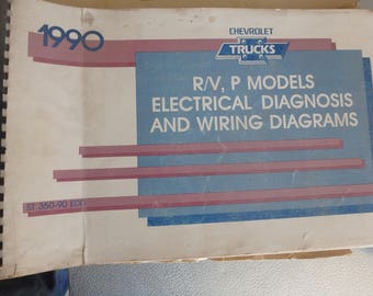 1990 chevrolet electrical diagnosis & diagrams -R/V-P models