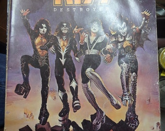 Kiss destroyer songbook -1976 -64 pages