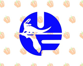 university florida SVG file, uf gators svg files for cricut machines, cricut files, silhouette files, sport logos, instant download svg