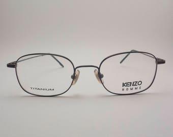 KENZO Vintage Titanium Glasses