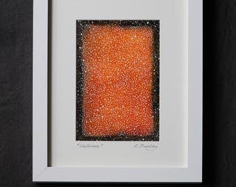 "Framed Mixed Media ""Galaxia"""