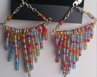 Multicolor Chandelier Earrings