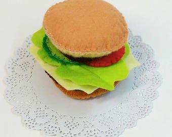 Set Felt Toy Sandwich Gift