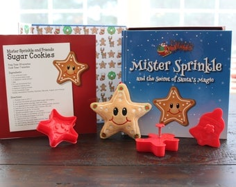 Mister Sprinkle Christmas Cookie Gift Set