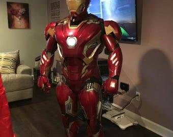 Complete 3d Printed Iron Man Mark 45 Suit: Custom Commission Builds