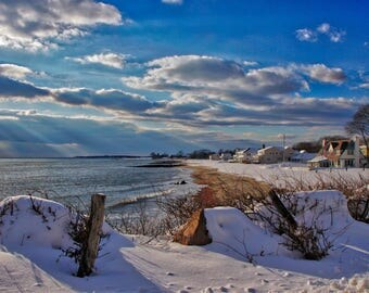 Winter at White Sands Beach