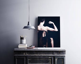 Strong Woman; get going, feeling powerful, wall art