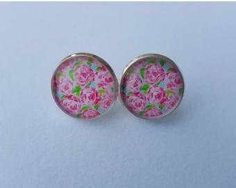 Lily Monogrammed Earrings
