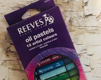12 oil pastels brand new unopened