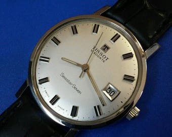 Exquisite Vintage Mans *TISSOT* Hand Winding, Original Dial, FULLY SERVICED!