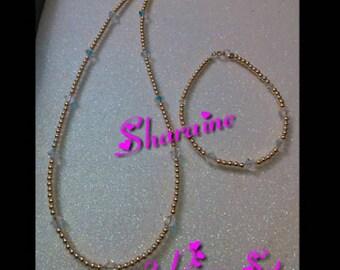 2 Piece Set (Necklace And Bracelet)