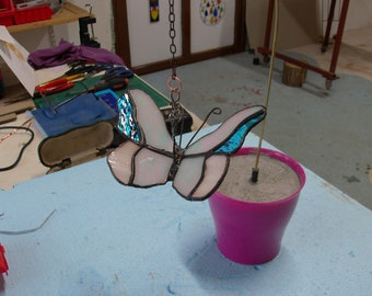Butterfly Tiffany Glass