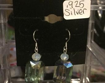 Mystic Fire and Opal Danglle Earrings