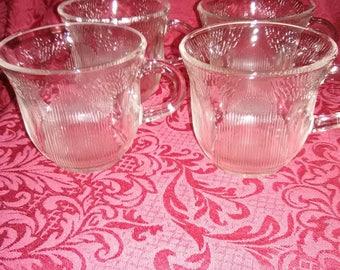 Vintage coffee cups. Set of 4.