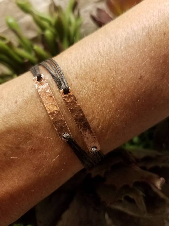 Ourano: Gold, custom fitted, Greek cord bracelet