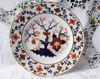 Early Antique Derby Plate