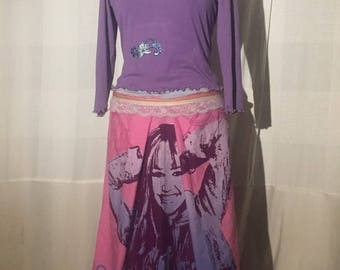 Hannah Montana-Purple Dress for fans, the series and those who just like something unusual;-)