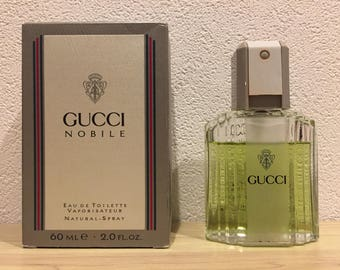 FREE SHIPPING - Gucci Nobile Eau de Toilette - 2oz/60ml - Rare Vintage