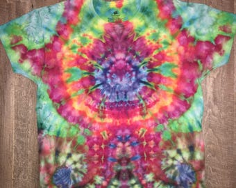 Iced tie dye. Center & down