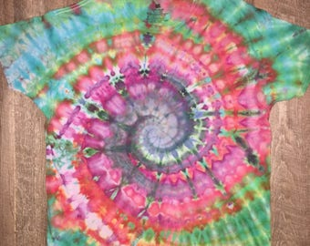 Iced tie dye. Down the rabbit hole