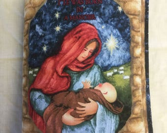 Ready made fabric book, The nativity story, ideal for babies and toddlers