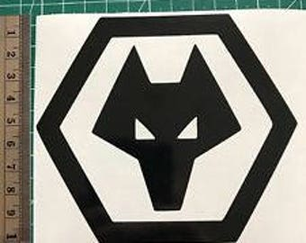 Wolverhampton Wanderers Car Decal - Football Sticker