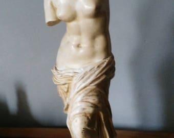 Very old Venus de Milo Sculpture in Marble