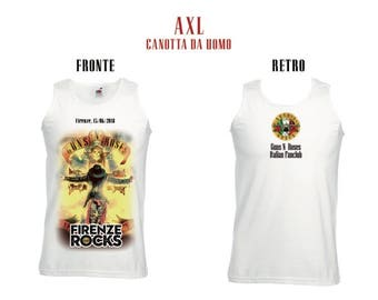 Guns n ' Roses: AXL Tank Man-Florence 15-6-2018