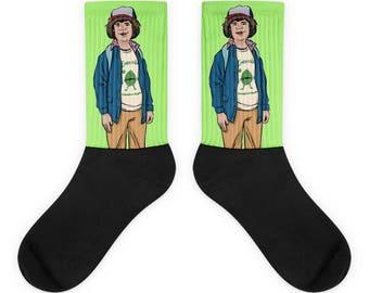 Dustin Socks | Stranger Things Store | Stranger Things Shirts, Mugs, Leggings & More