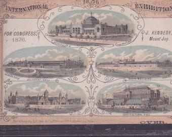 International Exhibition 1876, Philadelphia