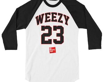 "Lil Wayne ""Weezy 23"" Baseball T-shirt"