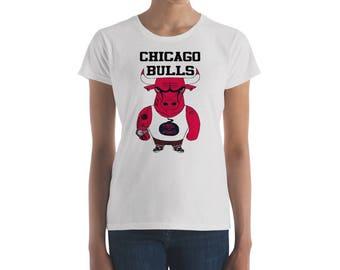 Chicago Bulls Basketball Women's short sleeve t-shirt