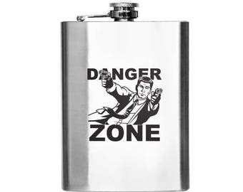 Archer Danger Zone Designer Flask