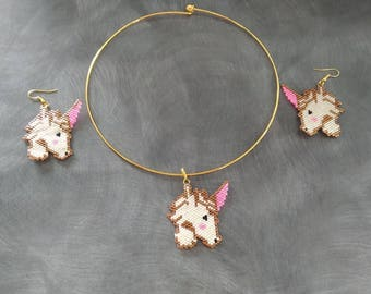 cillier and Unicorn earrings