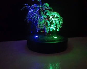NightAngel Wire tree sculpture