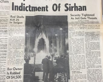 The Indianapolis News Evening Edition Friday, June 7, 1968
