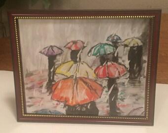 Rainy Day watercolor