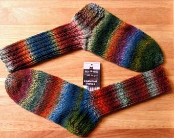 Handmade knitted socks wool socks knitted socks handmade hand knit socks wool 6 fold/threads Gr. 39