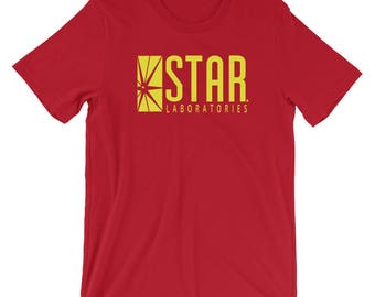 THE FLASH Star Labs T Shirt for Men & Women