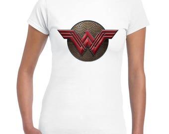 Wonder Woman Shirt, Superhero Shirt, Wonder Woman logo Tee, Women's Wonder Woman Shirts, Wonder Woman Shirt - Wonder Woman
