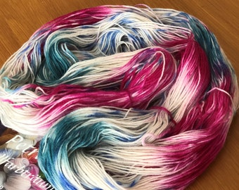 Hand-dyed Gorgeous sock wool