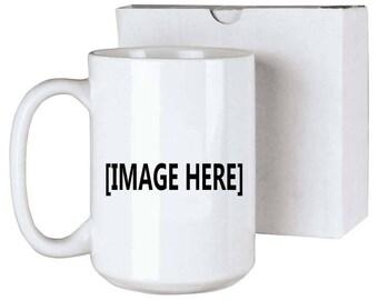 Custom Mug 15oz (in group of 36)(box not included)