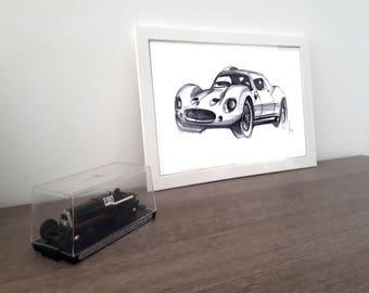 Maserati Tipo151 Sketch