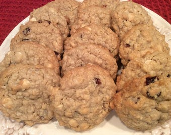 White Chocolate,Craisin Oatmeal Cookie