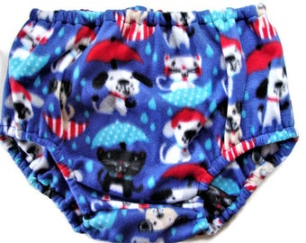 ABDL Fleece Diaper Covers Adult Baby in Sm, Med, Lg