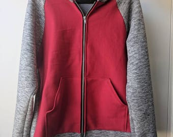 Red and Gray Jacket