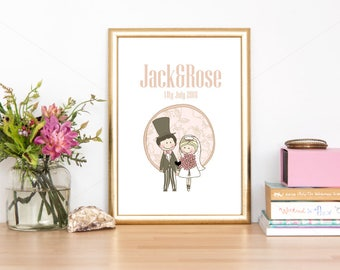 Printable Wedding/couple Design Poster