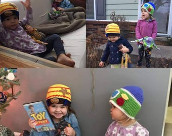 Buzz Lightyear and Woddy Hats